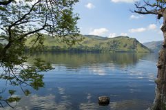 lakes uk Royaltyfri Bild