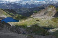 Lakes' valley Royalty Free Stock Photo