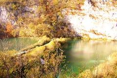Lakes and waterfalls Royalty Free Stock Image