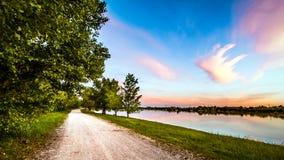 Lakescape Стоковое Фото