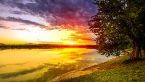 Lakescape Стоковая Фотография