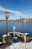 lakeschliersee Fotografering för Bildbyråer