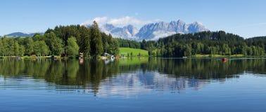 lakeschwarzsee Royaltyfri Bild