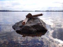 LakeSea royalty free stock image