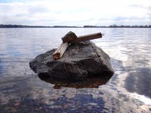 LakeSea imagem de stock royalty free