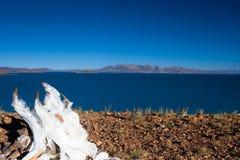 Meio-dia do lago Rakshasta Fotos de Stock