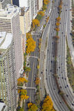 Lakeshore Drive in Chicago Royalty Free Stock Image