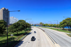 Lakeshore Drive Chicago Royalty Free Stock Images