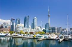 Lakeshore Jachthafen Stockfoto