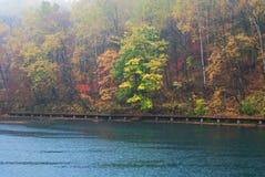 Lakeshore. Lake in Jilin Province, China Stock Photos