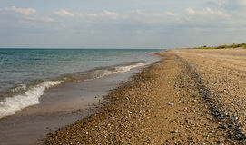 lakeshore le Michigan Photos libres de droits