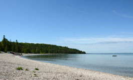 Lakeshore, Mackinac Island, MI Stock Photography