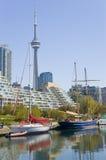 Lakeshore porto Imagem de Stock Royalty Free