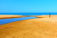 Indiana Dunes State Park in Chesterton Porter County Royalty Free Stock Photography