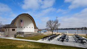 Lakeside Bandshell Stock Photos