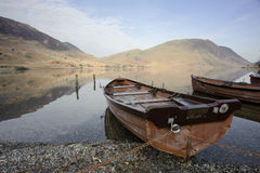 Lakeside Boats Stock Images