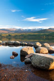 Loch Morlich, Scotland  Royalty Free Stock Photography