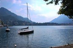 Lakeside di Lecco Immagini Stock
