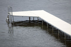 Lakeside Dock. And pier stock photography