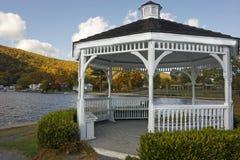 Lakeside Gazebo Royalty Free Stock Images
