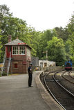 Lakeside and Haverthwaite Railway Royalty Free Stock Images
