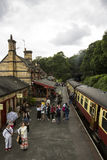 Lakeside and Haverthwaite Railway Stock Images