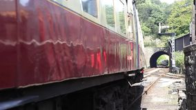 Lakeside and Haverthwaite Railway stock video footage