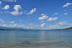 On the lakeside Royalty Free Stock Photography