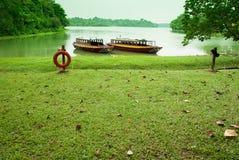 Lakeside landscape Stock Image