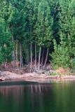 Lakeside landscapes Royalty Free Stock Photo