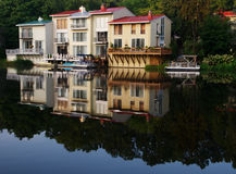 Lakeside living Royalty Free Stock Image
