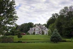 Lakeside Mansion Royalty Free Stock Photo