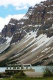 Lakeside mountain view Royalty Free Stock Photography