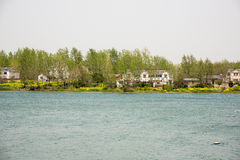 Lakeside Residence Royalty Free Stock Photography