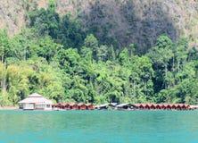 Lakeside Resort Royalty Free Stock Image