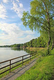 Lakeside of seehamer see, germany Stock Photo