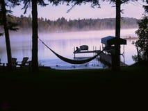 Lakeside Sunrise Royalty Free Stock Photos
