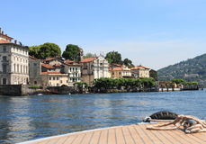 Lakeside view at Stresa, Italy Royalty Free Stock Photos