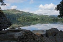Lakeside View Stock Photo