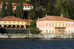 Lakeside villas of Como Stock Photography