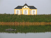 lakeside własności domu lato fotografia royalty free