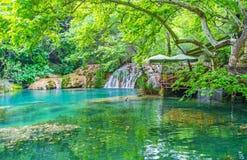 Free Lakeside Walk In Kursunlu Nature Park, Aksu, Turkey Stock Photography - 121945942