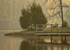 Lakesidedröm arkivbilder