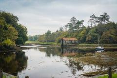 Lakesidesegling Arkivfoton
