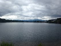 Lakesidesikt arkivbild