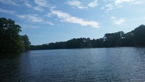 Lakesidesikt Royaltyfri Foto
