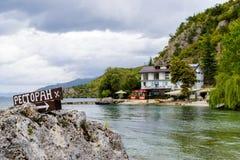 Lakesidestång Arkivbild