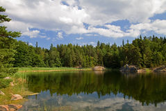 lakesommar Royaltyfria Foton