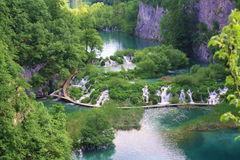 lakesplitvice Royaltyfri Fotografi