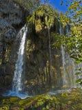 lakesplitvicewatterfall Royaltyfria Foton